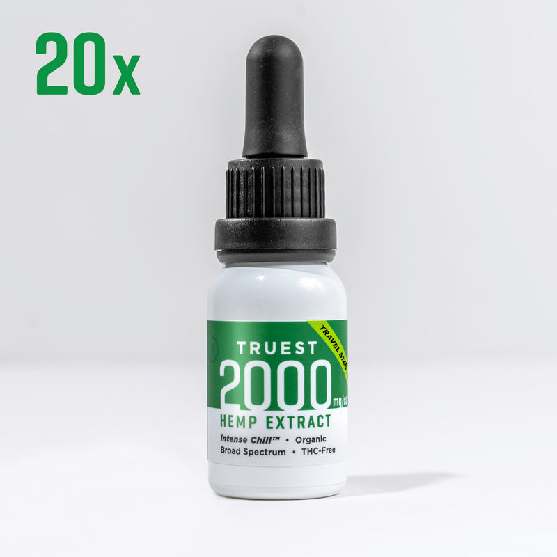 2000 mg - Travel Size 20 Pack
