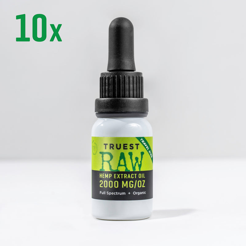 Truest RAW 2000 mg - Travel Size 10 Pack