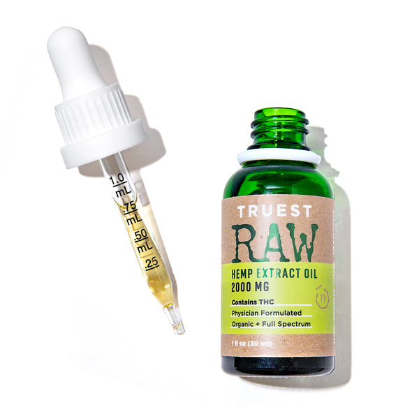 TruestYou Truest RAW Full Spectrum 2000mg Hemp Tincture