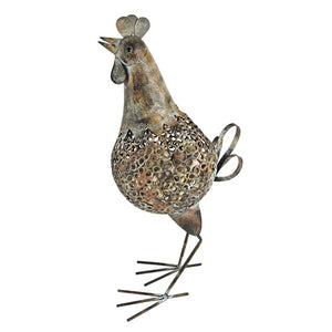 Rustic Farmhouse: Rooster Cork Holder - Rare Crush