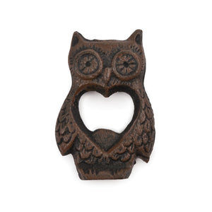 Rustic Farmhouse: Owl Bottle Opener - Rare Crush