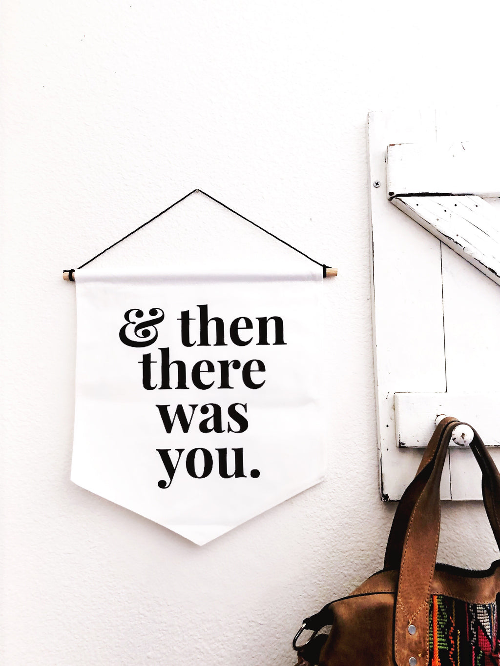 & then there was you // BANNER