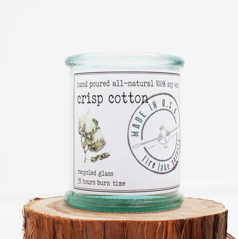 Crisp Cotton Soy Candle