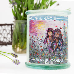 Prayer Candle  Ruth & Naomi Sisterhood Candle (Best Seller)