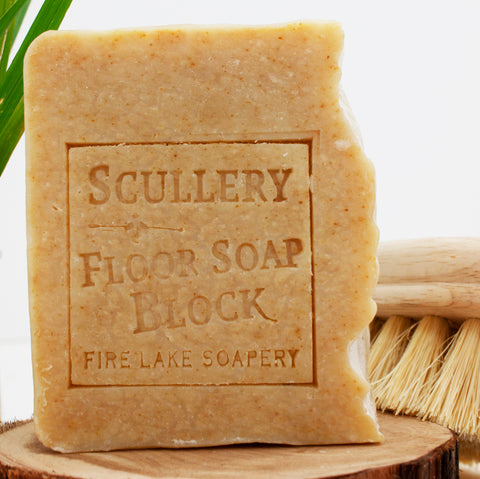 Scullery Floor Cleaning Block