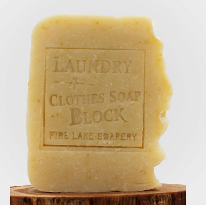 Laundry Cleaning Soap Block