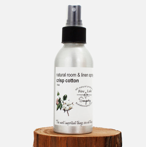 Crisp Cotton Room & Linen Spray