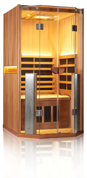 CLEARLIGHT SANCTUARY FULL SPECTRUM INFRARED SAUNA - ONE PERSON - HigherDOSE