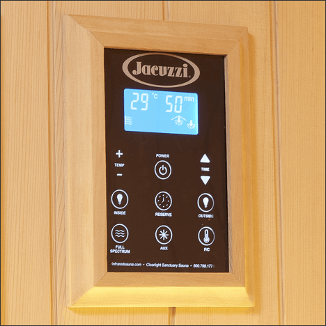 CLEARLIGHT SANCTUARY FULL SPECTRUM INFRARED SAUNA - THREE PEOPLE - HigherDOSE