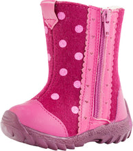 Winter Girls Valenki/Felt Boot Polka Dot 167030-43