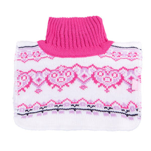 Neck Warmer Acrylic/Wool White 3-002896