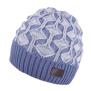 Knit Hat Merino Wool Blue 3-003192