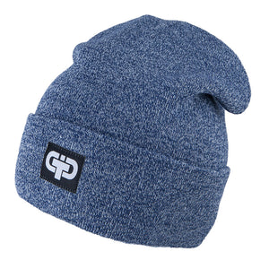 Knit Hat Wool/Acrylic Navy 3-003786