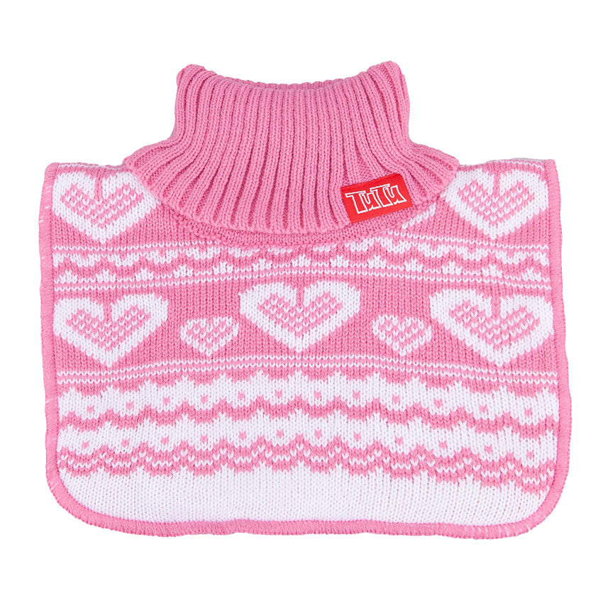 Neck Warmer Acrylic/Wool Pink 3-003834