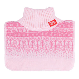 Neck Warmer Acrylic/Wool Pink 3-003835