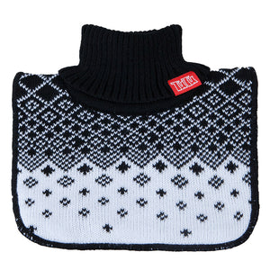 Neck Warmer Acrylic/Wool Diamond Black 3-003843