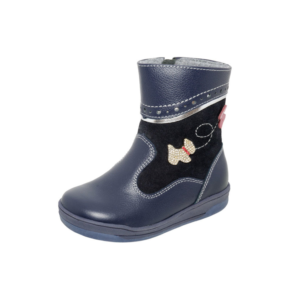 Fall/Spring Leather Boot Butterfly 3-1027