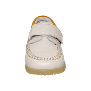 Fall/Spring Leather Moccasin Shoe 3-702