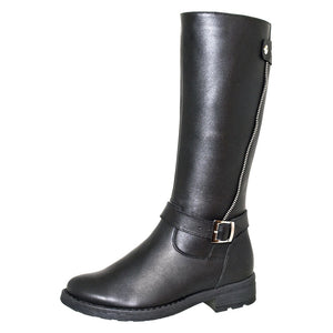 Winter Side Zipper Tall Boots 5-954
