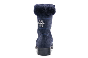 Winter Snowflake Fur With Zipper 662123-51