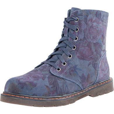 Winter Flower Print Ankle Boot 752072-41