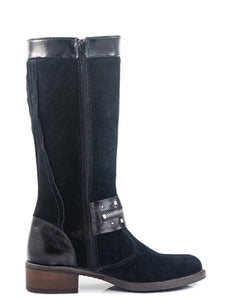 Fall/Spring Tall Ankle Zipper Boot 762033-31