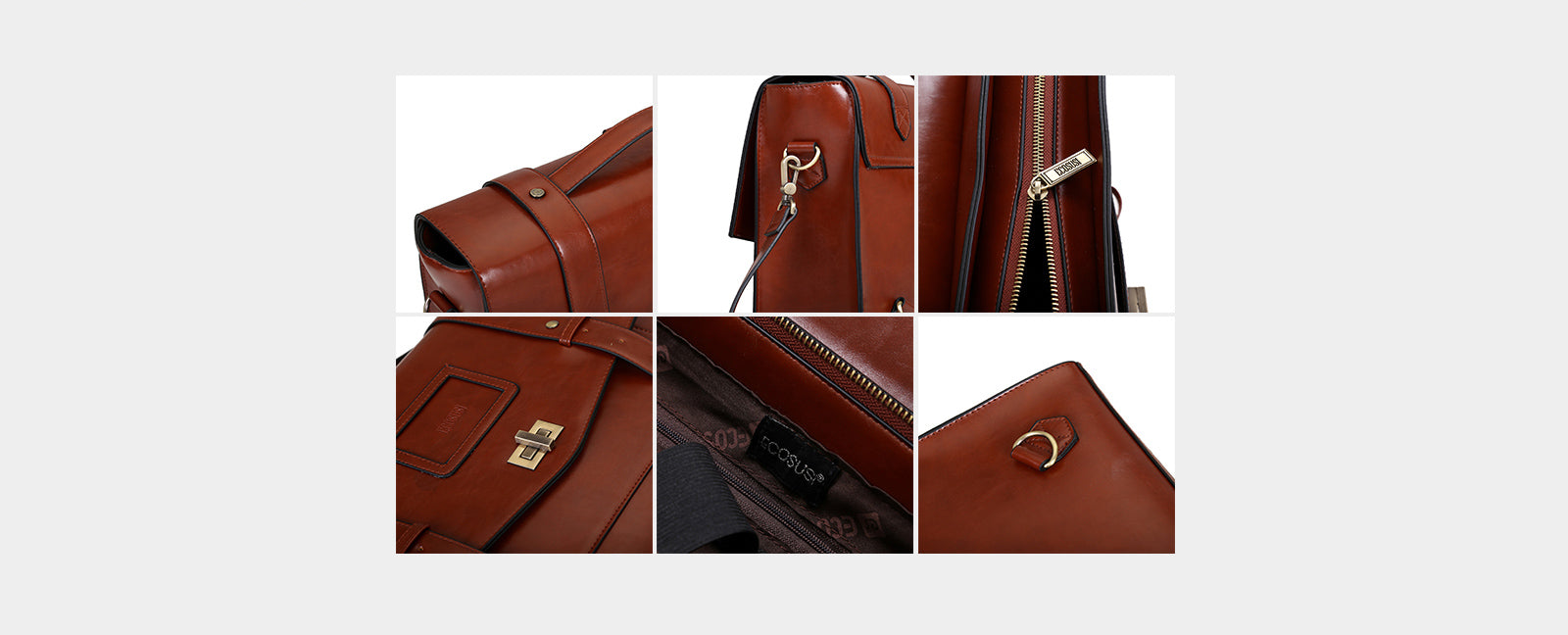 Ladies Faux Leather Briefcase Shoulder Laptop Messenger Bags Satchel Bag Cambridge Backpack Fit 14 inch Laptop