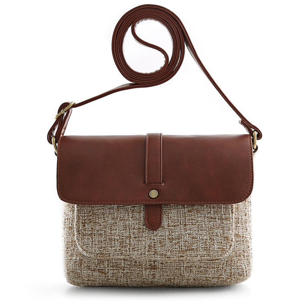 Women's Flap-over Crossbody Bags