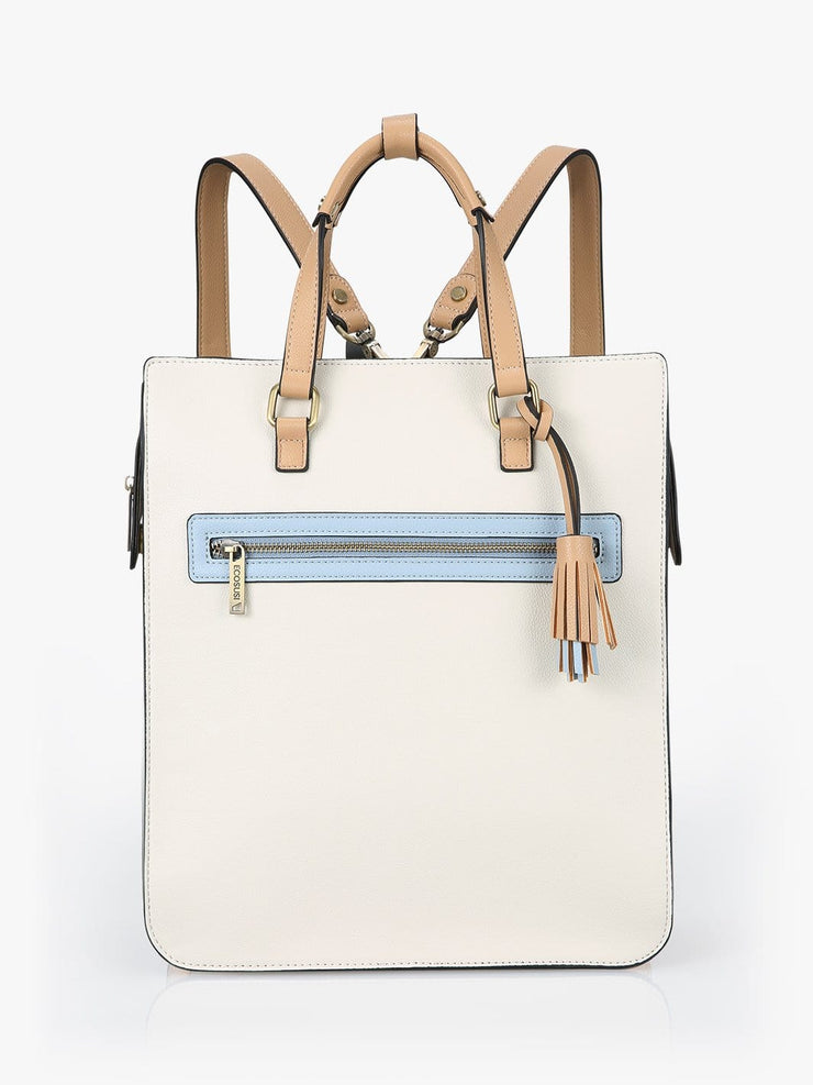 Matching Colour Work Tote Backpack