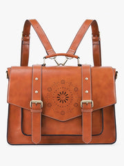 Women's Faux leather Classic Big Briefcase
