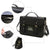 Women's  Magnetic Snaps Briefcase