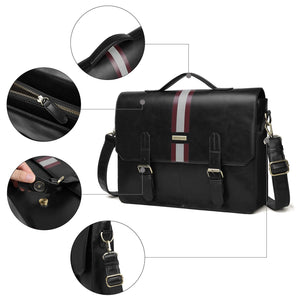 Men's Faux leather Messenger Bags