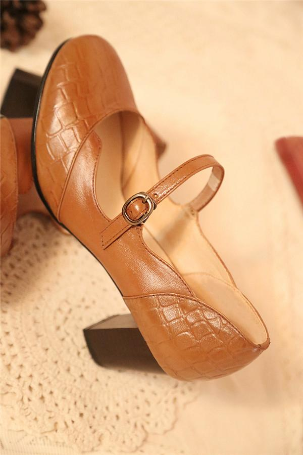 Women's Classic Mary Jane High Heels