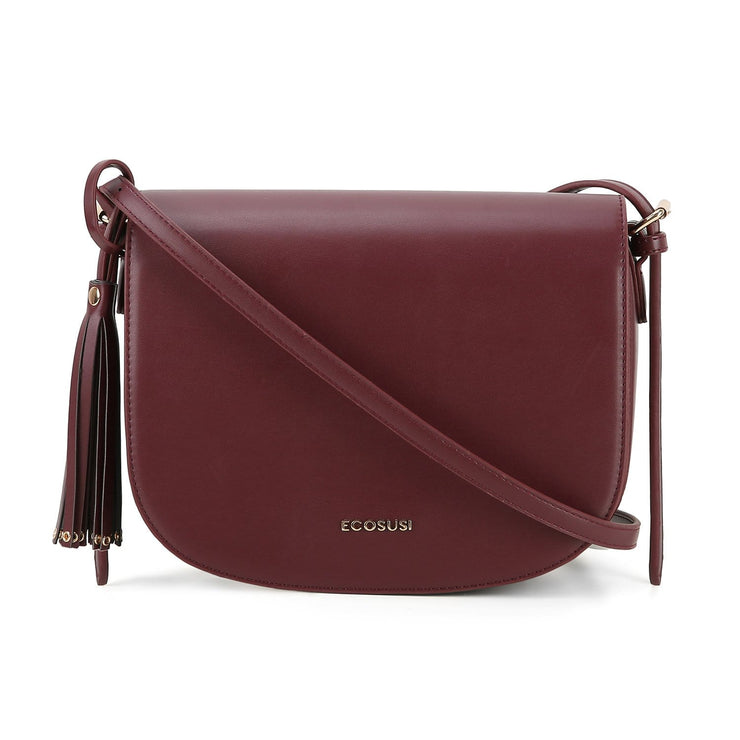 Women's Saddle Bags with Tassel