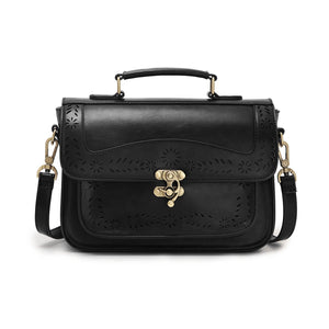 Women's Fashion PU Messenger Bag
