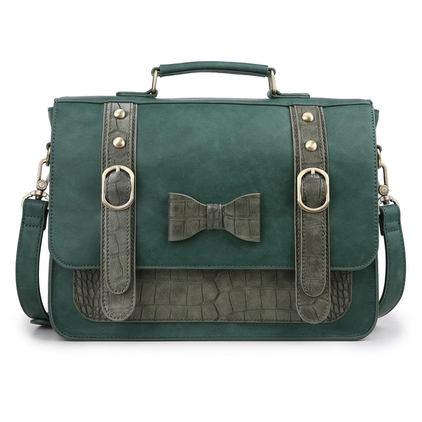 Women's PU Small Bow Messenger Bag