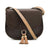 Saddle Shoulder Bags Purse Vintage Crossbody Bag for Women with Tassels