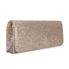 Women Flap Dazzling Evening Bag Hard Case Clutch Handbag Purse for Women with Detachable Chain