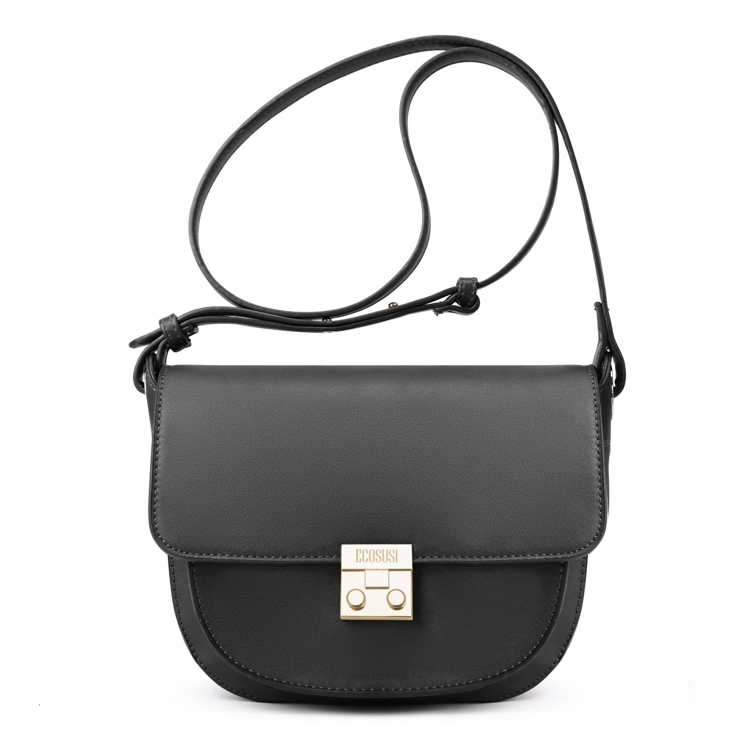 9fdf37b34ca6 Women s Crossbody Saddle Bags Shoulder Purse with Flap Top   Phone Pocket