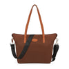 Women's Nylon Tote Waterproof Crossbody Bags with Black Adjustable Strap Beach Shoulder Handbag