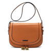 Women's Saddle Bag Purses Crossbody Shoulder Bag with Flap Top & Tassel Satchel for 9.7 inch iPad