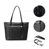 Women's Top Handle Satchel PU Leather Handbags Shoulder Bag Top Purse Faux Leather Tote
