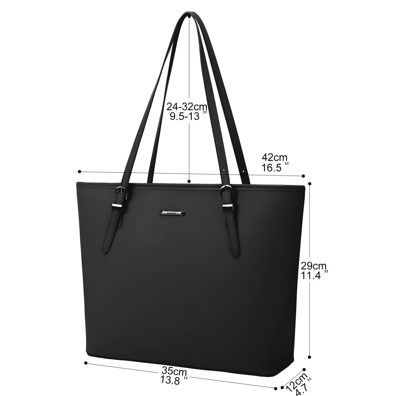 7ad7e1baa2ce Women Top Handle Satchel Handbags Shoulder Bag PU Leather Purse Tote  Shoulder Bag