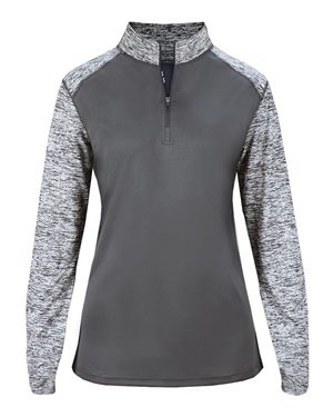 Badger Ladies Quarter Zip