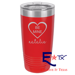 Be Mine Artwork on Ringneck Polar Camel 20 oz. Tumbler
