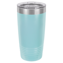 I'd Rather Be a Mermaid Personalized on Ringneck Polar Camel 20 oz. Tumbler