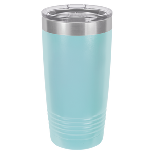 Vine Monogram on Ringneck Polar Camel 20 oz. Tumbler
