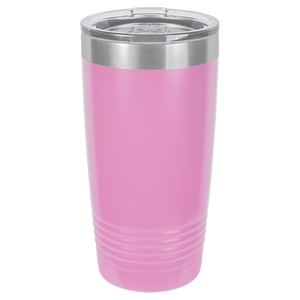 Finally 21 Birthday Hashtag on 20 oz. Tumbler - Victorian Design
