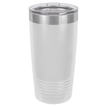 Circle Monogram on Ringneck Polar Camel 20 oz. Tumbler