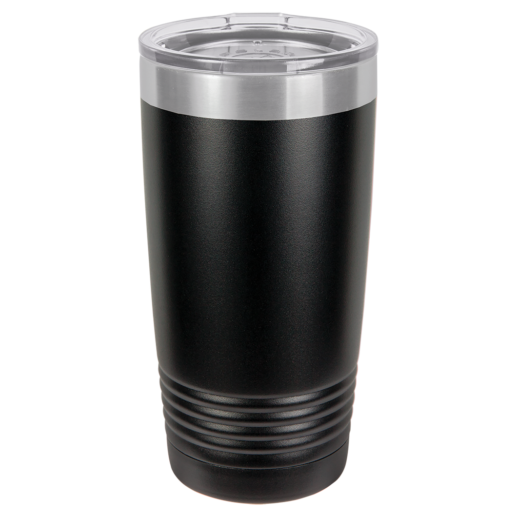 Finally 21 Birthday Artwork on 20 oz. Tumbler - Shadow